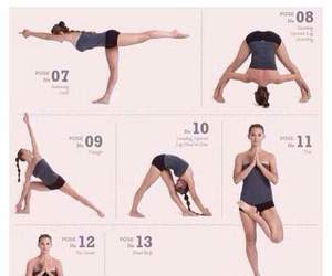 funny, lol, and yoga image