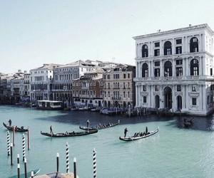 architecture, sea, and venezia image