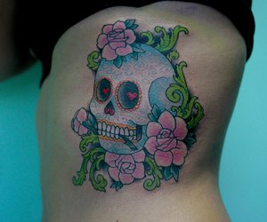 skull mexican image