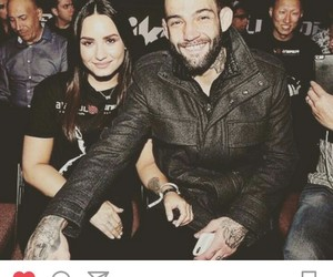 bomba, couple, and demi lovato image