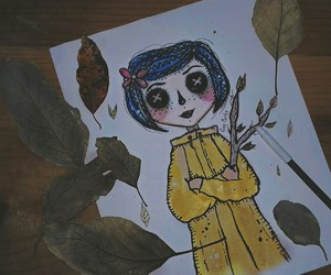 blue, colors, and coraline image