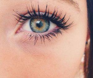 eyes, girl, and eye image