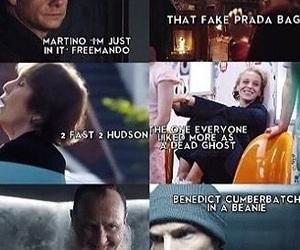 funny, sherlock, and sherlock season 4 image