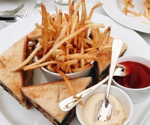 blogger, chips, and fries image