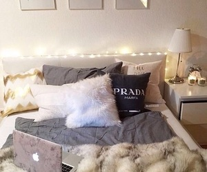 bedroom, bed, and goals image