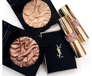 makeup, YSL, and beauty image