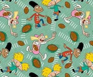 hey arnold, wallpaper, and cartoon image
