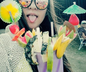 happiness, summer, and pinacolada image