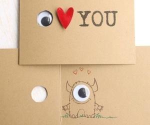 card, cute, and diy image