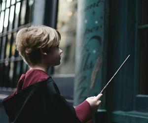 harry potter, boy, and hogwarts image