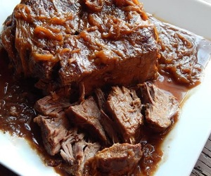 beef, pressure cooker, and coffee image