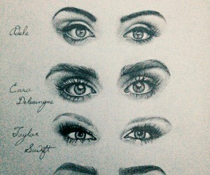 art, eyes, and lana del rey image