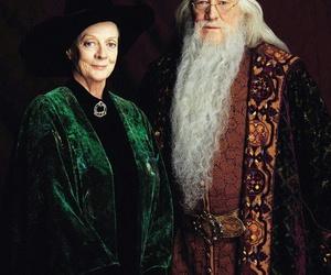 harry potter, dumbledore, and albus dumbledore image