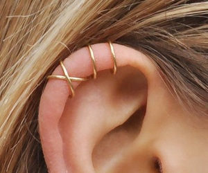 ear and ear piercings image
