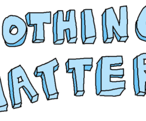 transparent, blue, and nothing matters image