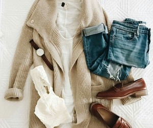shoes, sweater, and style image