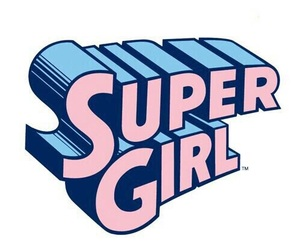 super girl, pink, and overlay image