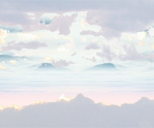 pastel, aesthetic, and clouds image