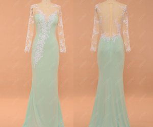 evening dresses, pageant, and long prom dress image