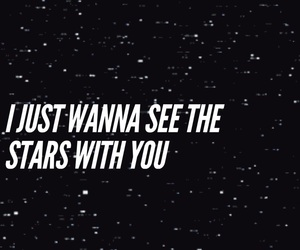 gif, Lyrics, and stars image