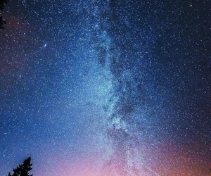 cosmos, lights, and stars image