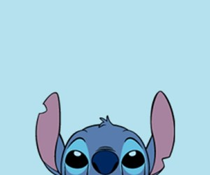blue and stich image