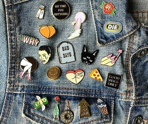 grunge, pins, and tumblr image