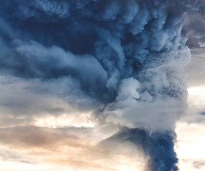 nature and volcano image