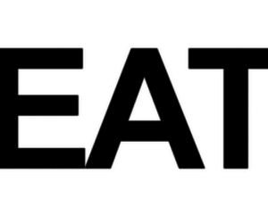 eat and text image