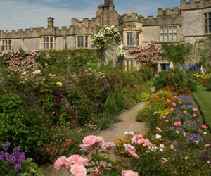 bakewell, derbyshire, and english garden image