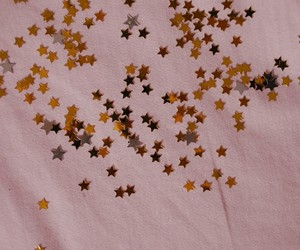 stars, pink, and aesthetic image