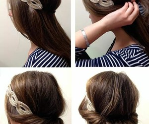 hair, step by step, and tutorial image