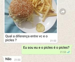 amigo, engraçado, and chat image
