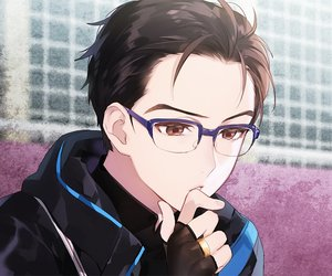 yuri on ice, anime, and yuri katsuki image