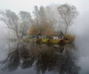 house, hungary, and trees image