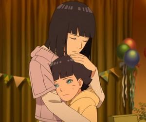anime, boruto the movie, and family image