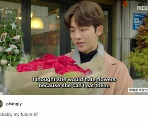 flowers and kdrama image