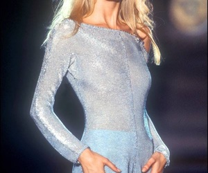 Claudia Schiffer, model, and 90s image