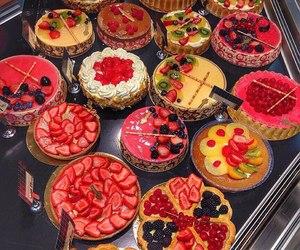 food, cake, and FRUiTS image