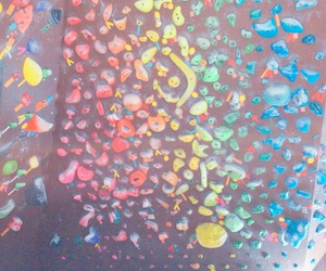 climbing, rainbow, and bouldering image