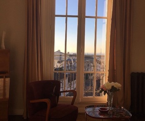 window, paris, and room image