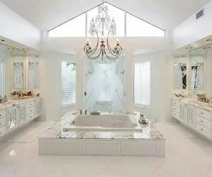 bathroom, light, and Dream image