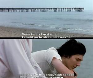 quote, sad, and movie image