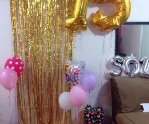 birthday, decoracion, and decoration image