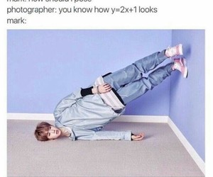 got7, mark, and funny image