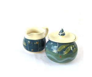 pottery and vintage image