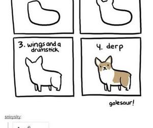 dog, corgi, and funny image