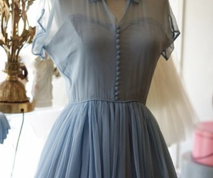 dress, vintage, and beautiful image