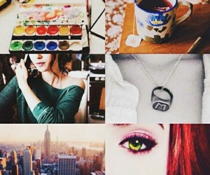 book, the mortal instruments, and clary fray image