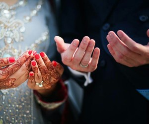 muslim and pray image